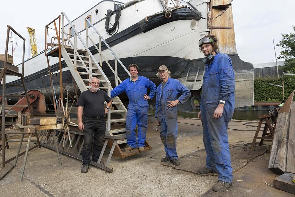 Scheepswerf Stallinga;  de laatste scheepswerf van Leiden