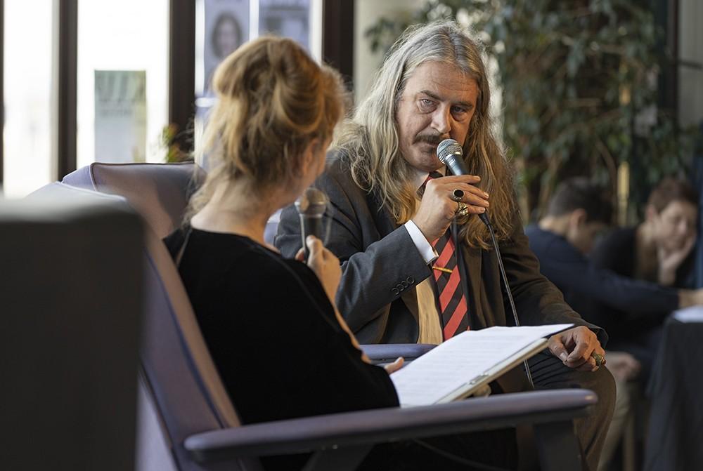 Ilja Leonard Pfeijffer, dichter en schrijver.